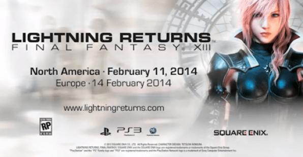 Final Fantasy XIII: Lightning Returns – Novo Trailer do jogo foi liberado