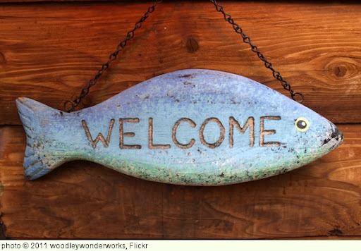 'welcome fish' photo (c) 2011, woodleywonderworks - license: http://creativecommons.org/licenses/by/2.0/