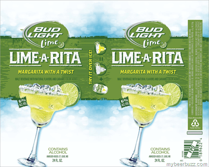 Bud Light Lime A Rita Calorie Nutritional Info 247 Calories Mybeerbuzz Com Bringing Good Beers People Together
