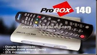 PROBOX 140 HD - ATUALIZAÇÃO 26.07.2014