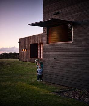 tablones de madera en fachadas de casas