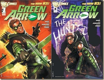 "Civilian Reader: DC New 52: ""Green Arrow"" #1 & 2"