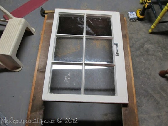 building a window cupboard