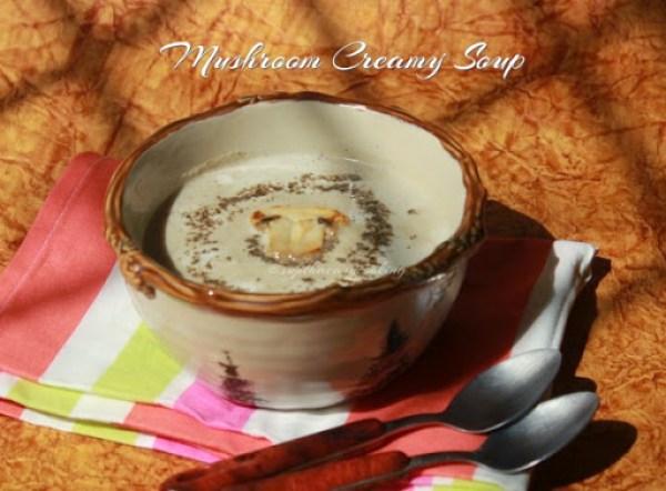 Mushroom Creamy Soup2