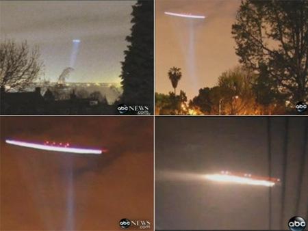 Objeto voador intrigou chineses no começo de julho (Foto: Reprodução/ABC News)