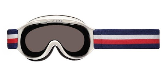 tommy hilfiger ski goggle-TH1101 white front