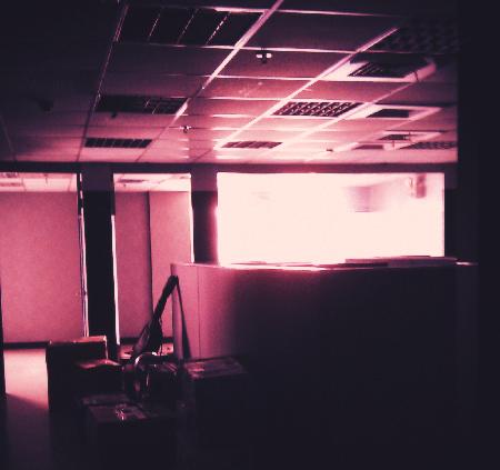 舊辦公室一景