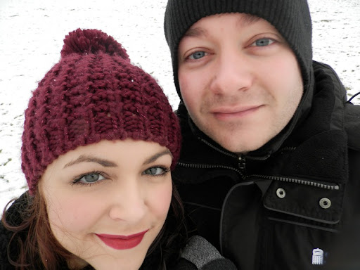 matt and i snow