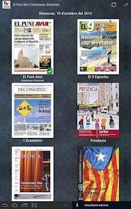 El Punt Avui - Com. Gironines screenshot 0