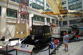 Who knew a museum about the postal service . . .
