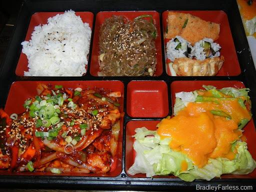 A 'box lunch' from Boka: Bon Chon, NYC.