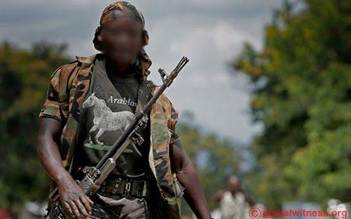 Un milicien dans l'Est de la RDC.