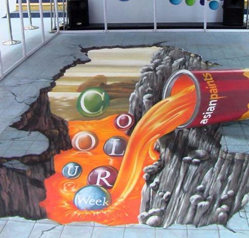10. Asian Paints – Graffiti asiático