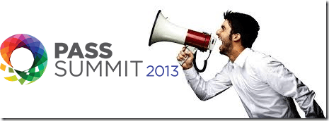 SQLJason - I'm speaking at the PASS Summit 2013
