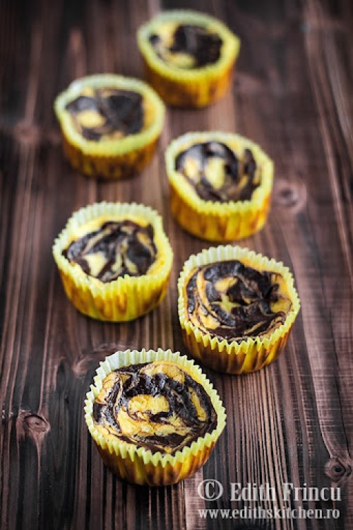 mini cheesecakes cu cacao 1