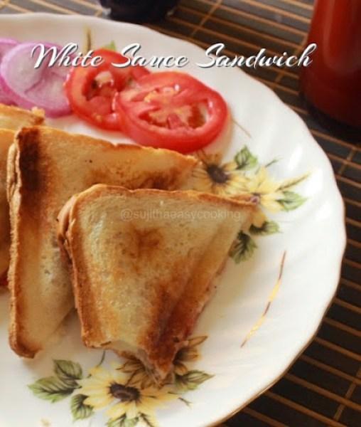 White Sauce Sandwich 3