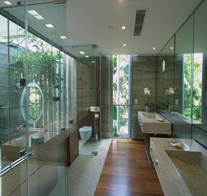 baño-moderno-Casa-Sunset-Vale