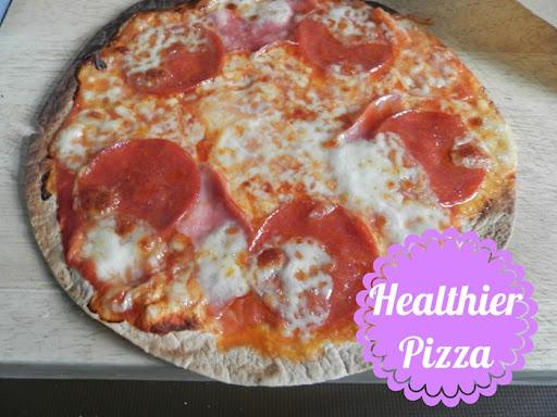 healthier pizza option