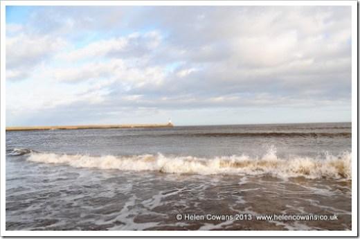 spittal beach and sea lighthouse 3