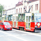 This older type tramways are still very popular in Poland.