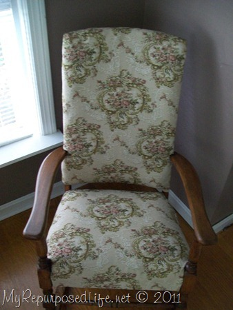 upholster rocking chair