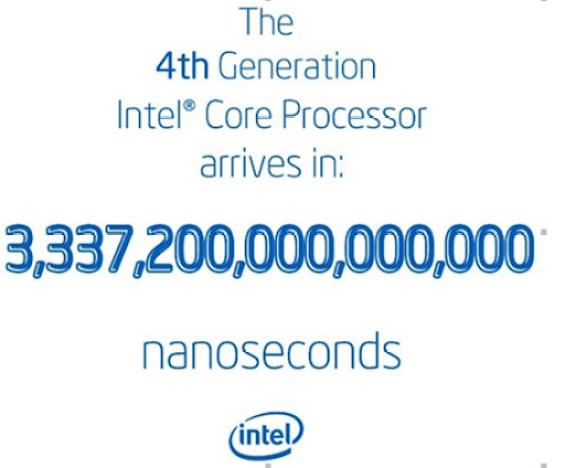 Intel lançará sua 4ª geração de processadores Haswell no dia 4 de junho