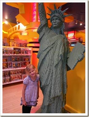 AG lego statue