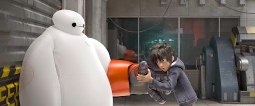戲遊不可: 迪士尼2014動畫電影《Big Hero 6》電影畫面公開