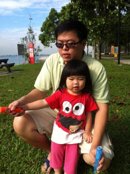 Yining With Bubbles