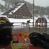 """After ski was just across """"the road"""""""