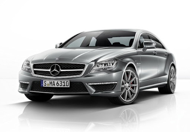 Mercedes-Benz CLS 63 AMG, S-Modell (W 218), 2012