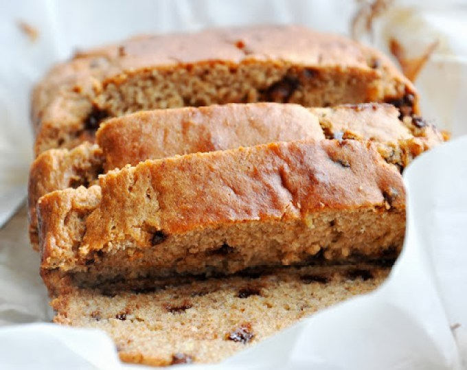chocolate chip buttermilk banana bread 029