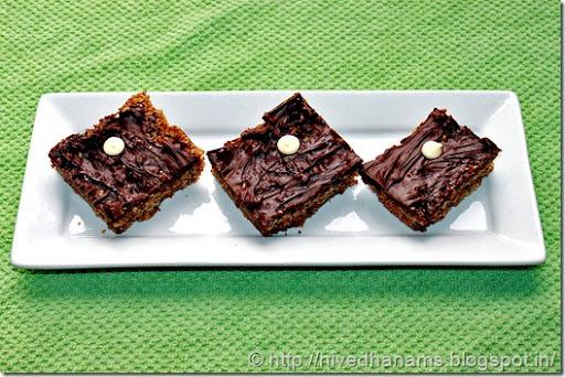 Chocolate Oatmeal Bar - IMG_3456