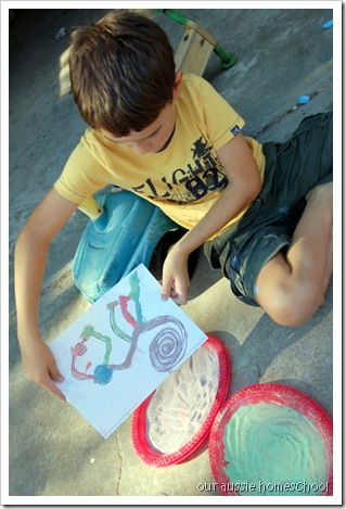 Coloured Sand Art ~ Our Aussie Homeschool