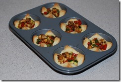 Baked pastry cups