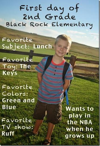 Josh 2nd grade