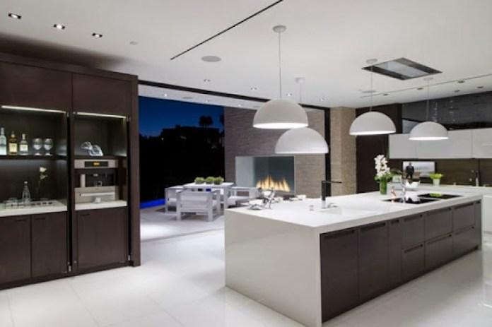 cocina-lujo-casa-laurel-way-Beverly-Hills-California