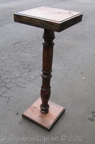 large spindle pedestal