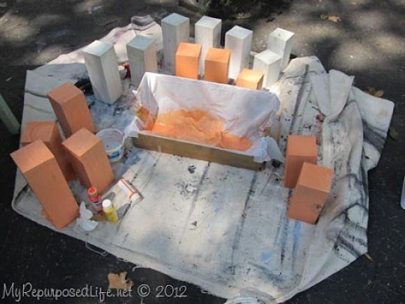 DIY Whitewash pumpkins & ghosts