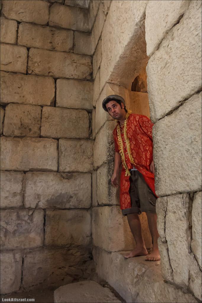 LookAtIsrael.com: Фото-блог о путешествиях по Израилю. Тель Авив, Иерусалим, Хайфа В одном из помещений нас также встречают и тоже рассказывают