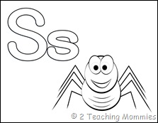 Play Dough Mats- Spiders