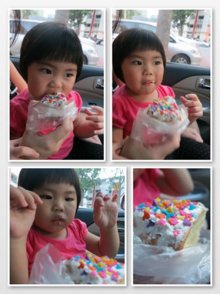 Yining Loves Her Old School Cake