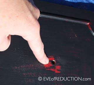 vaseline distress paint