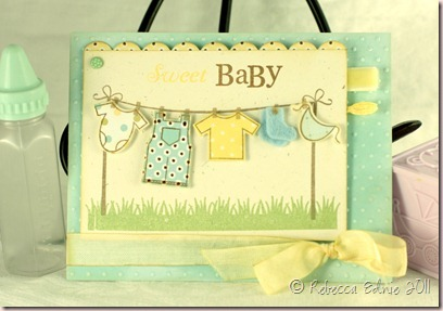 lemon aqua PTI blog hop baby card2