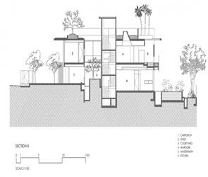 plano-seccion-Casa-Sunset-Vale-WOW-Architects