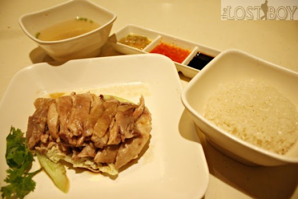 orchard road hainanese chicken rice