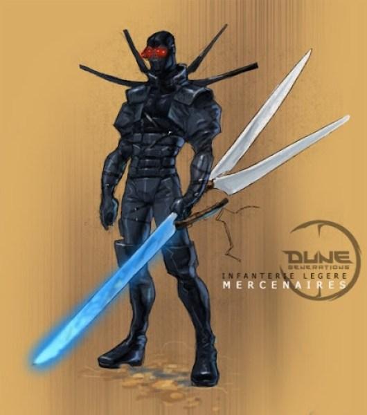 Dune Generations mercenario