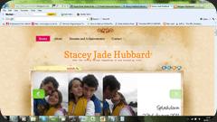 personal blog screenshot