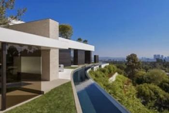 piscina-borde-infinito-casa-de-lujo-en-Beverly-Hills-California