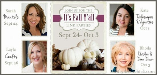 Fall Mantel Linky Party